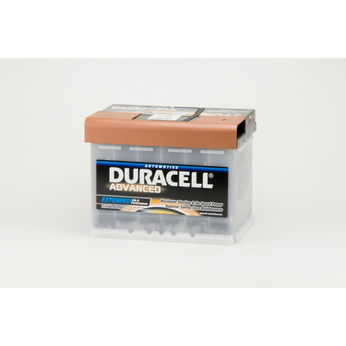 Voltage Auto Accu Auto Accu Duracell Advanced Da 63h 12v 63ah