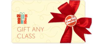Craftsy gift a class