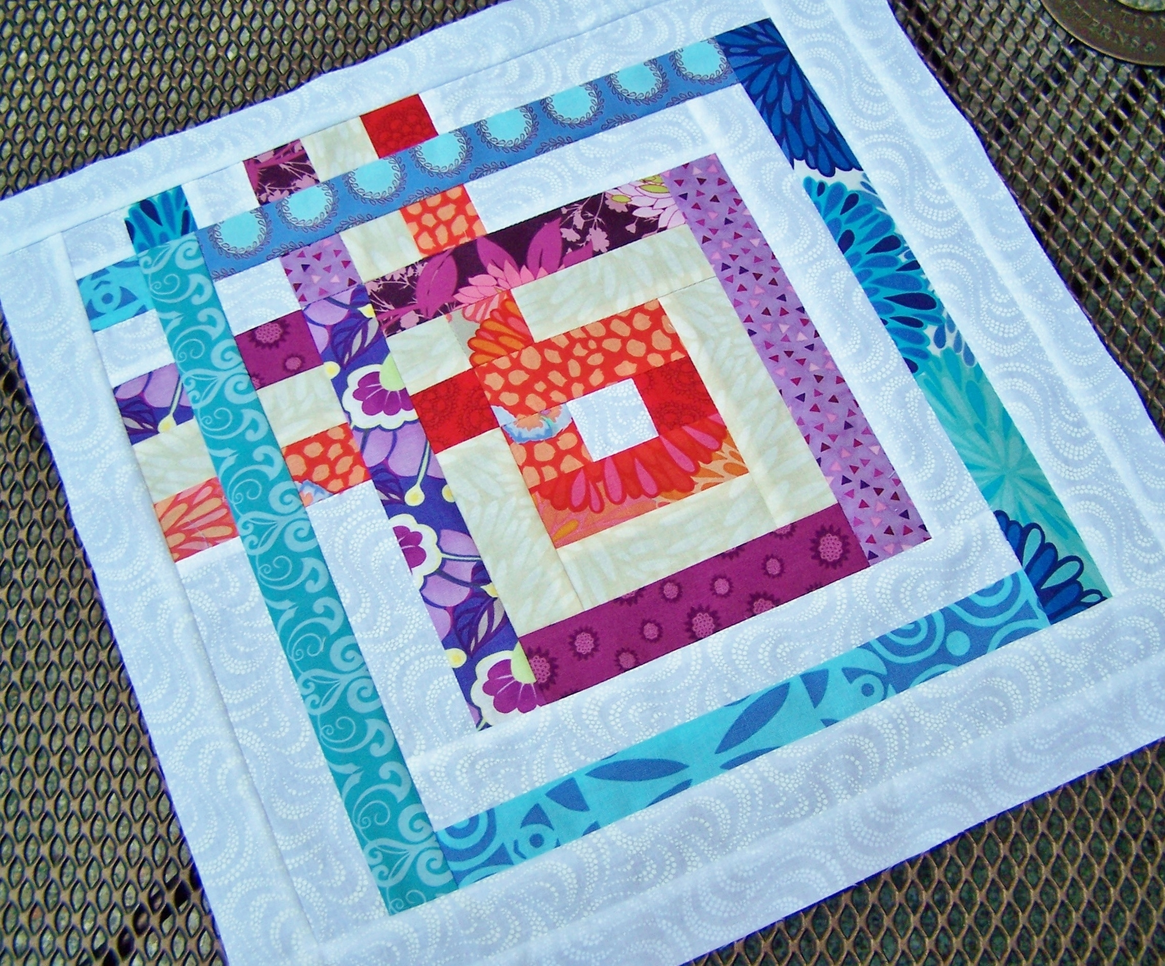 Scrap Happy Sampler #8 Block of the Month