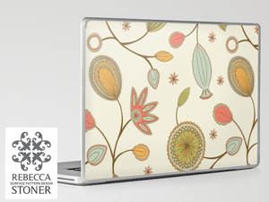 Mehndi_Laptop Skin_1