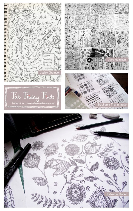Fab Friday Finds - Week 7 - Sketchbooks - on Rebecca Stoner www.rebeccastoner.co.uk