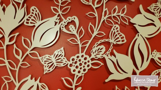 Laser Cut Metal Wall Panels by Rebecca Stoner www.rebeccastoner.co.uk