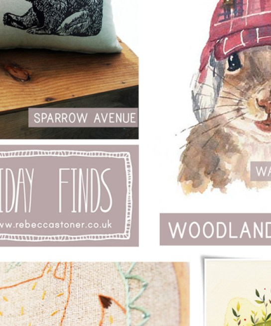 Fab Friday Finds - Woodland Animals - on Rebecca Stoner www.rebeccastoner.co.uk