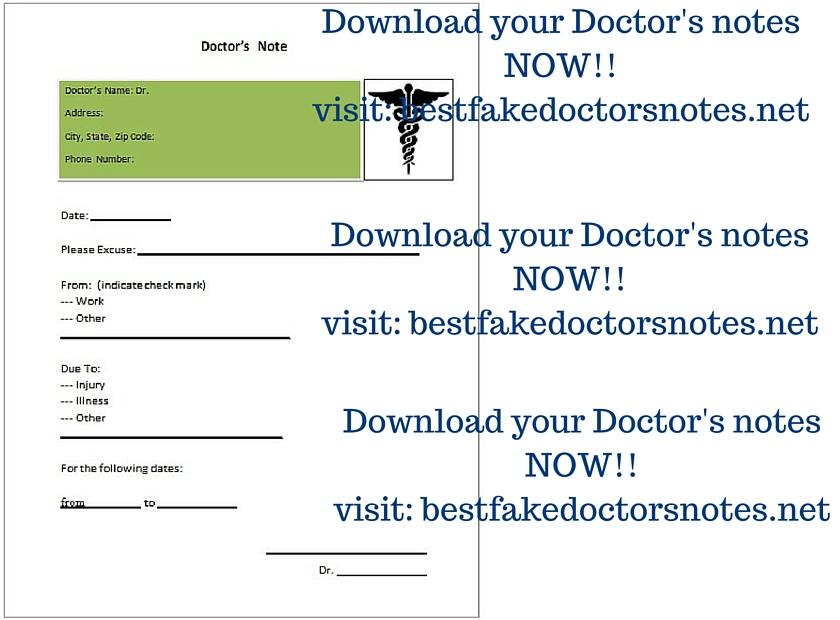 Fake Doctor\u0027s Slip \u2013 Sin or Savior