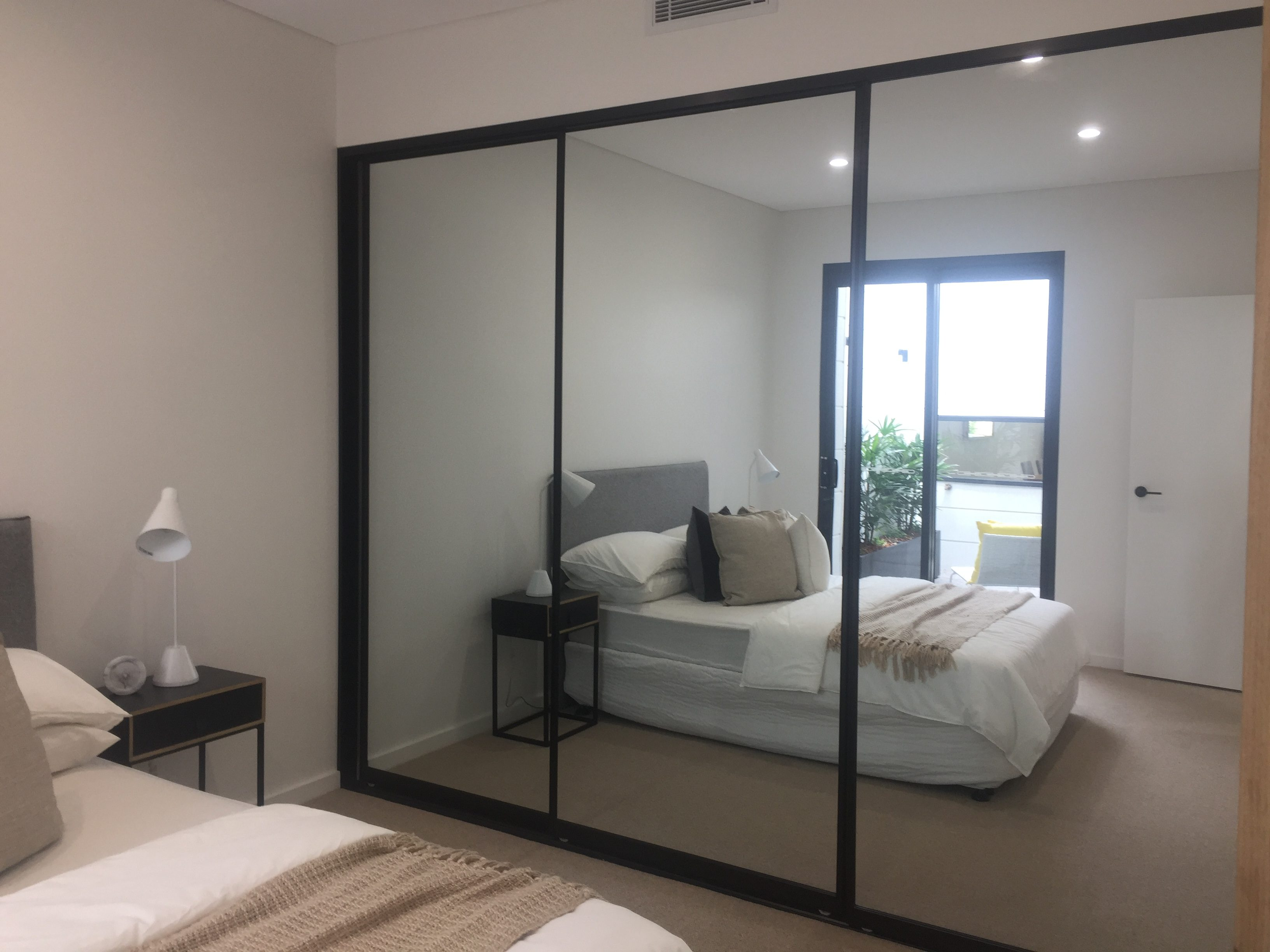 Bunnings Robes Wardrobe Doors Glass And Mirror Built In Wardrobes