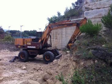 Terrassement ancienne carrière de pierres