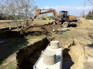 Terrassement assainissement individuel