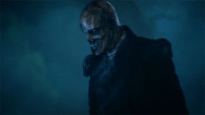 The Horseman's skull is attached to the Kindred on Sleepy Hollow.