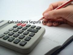 calculadora seguro desemprego
