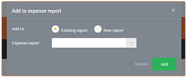 How to create an expense report \u2013 Receipt Bank