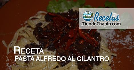 pasta-alfredo-al-cilantro-mundochapincom