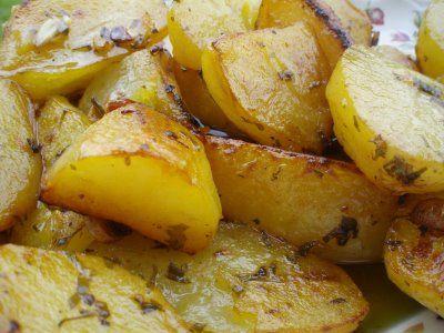 Patatas guisadas al microondas