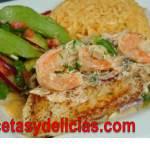 Receta de Rollos de pescado relleno de espinaca y zanahoria