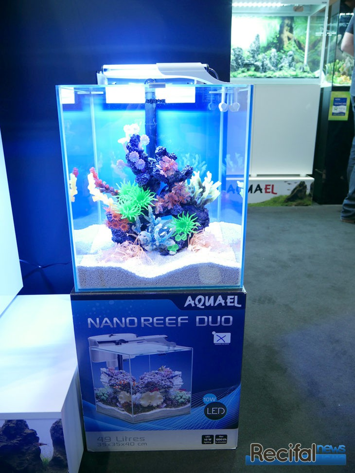 Eclairage Led Aquarium Eau Douce Aquatelford 2017 : Aquael Nano Reef Duo Et Reef Circulator