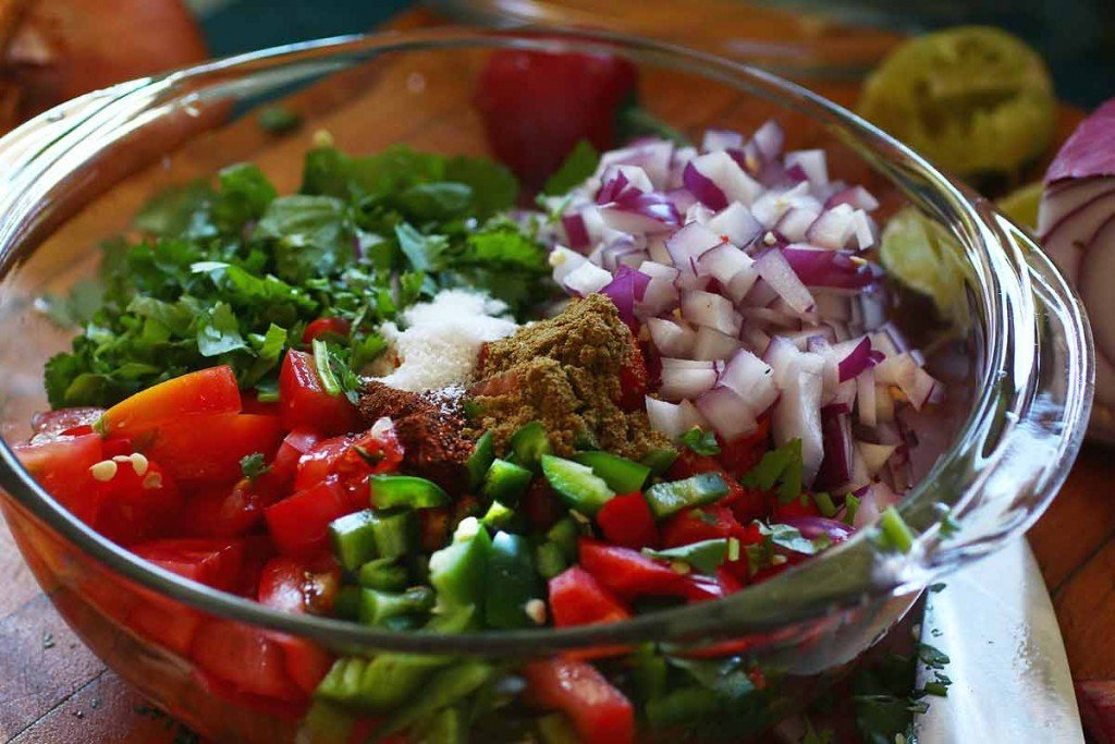 Fresh Tomato Salsa (Pico de Gallo) — Recipe Fiction
