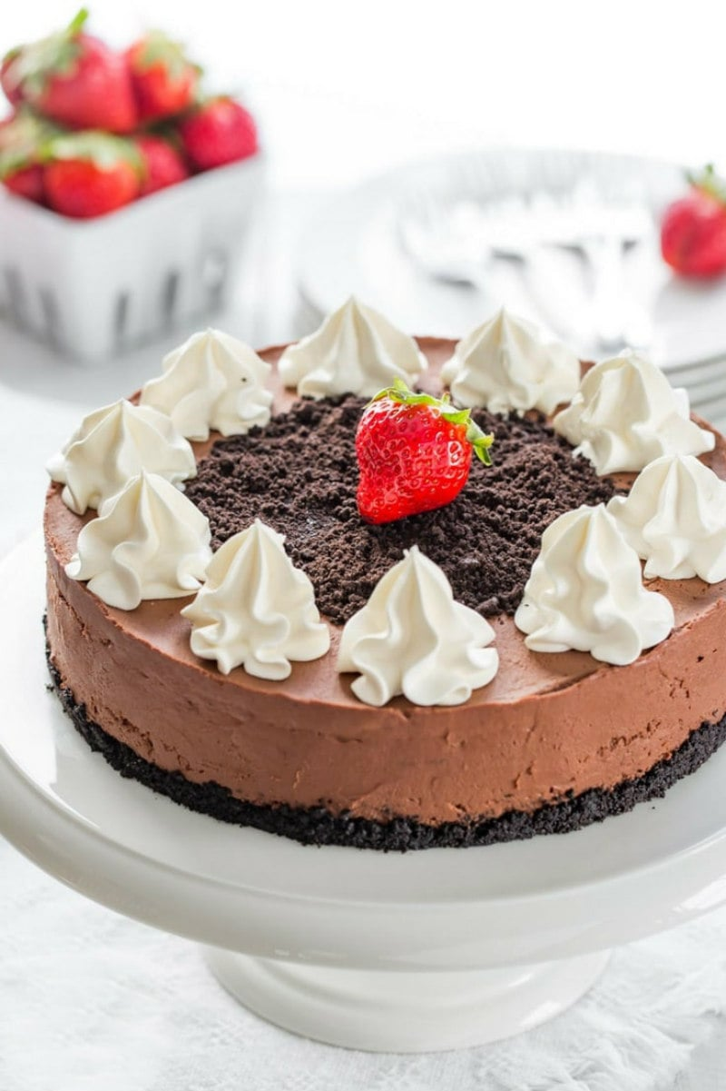 Baileys Kuchen No Bake Baileys Chocolate Cheesecake