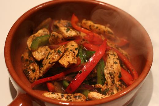 Paleo Marinated Fajita Chicken
