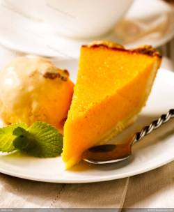 Small Of Pumpkin Chiffon Pie