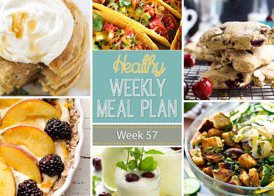 Healthy Weekly Meal Plan #57 - Recipe Runner