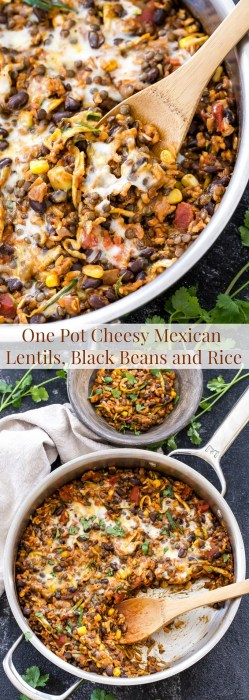 Mind A Gluten Free Dinner Whole Family Will Youwon One Pot Cheesy Mexican Black Beans Rice Recipe Runner Vegetarian Mexican Recipes Rick Bayless Vegetarian Mexican Recipes Enchiladas