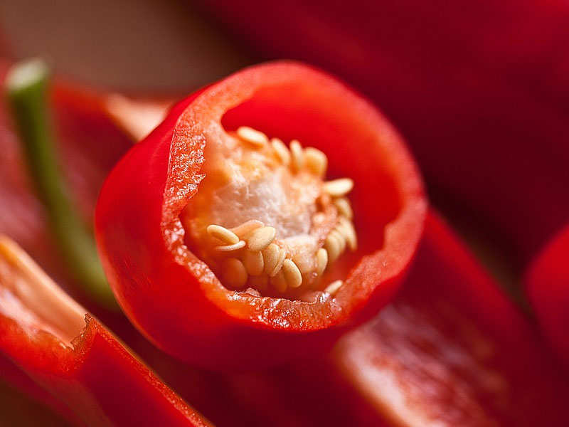 This part of chilli makes it spicy and not the seeds! - Are pepper