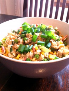 Kitchen-cupboard fried rice