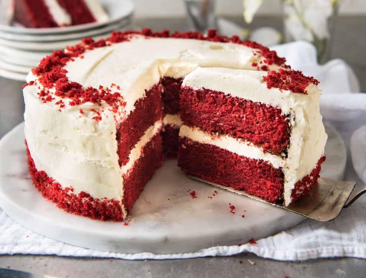 What Is Velvet Made Of Red Velvet Cake Recipetin Eats