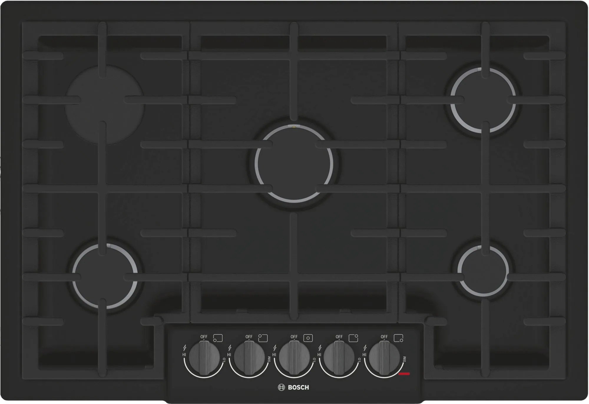 Gas Cooktop Installation Bosch 800 Series 30 Quot Gas Cooktop Black Ngm8046uc
