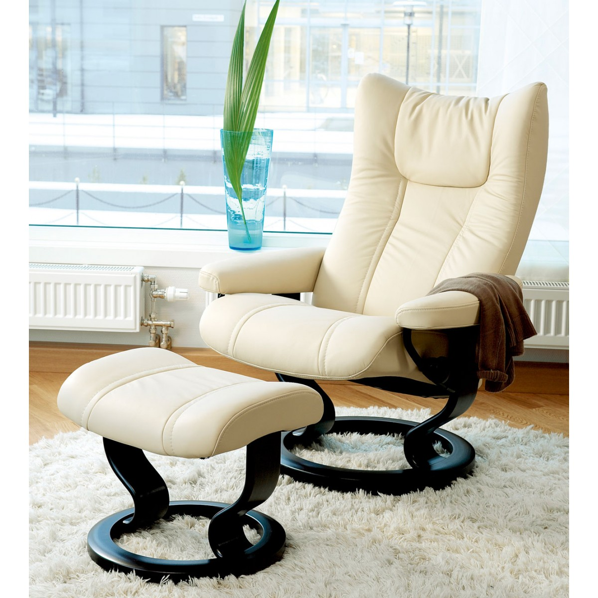Stressless Wing Classic Legcomfort Stressless Wing Classic Recliner And Ottoman From 2 395 00