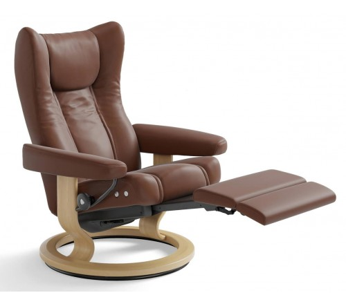 Stressless Wing Classic Legcomfort From 2 495 00 By - Stressless Wing Classic Legcomfort