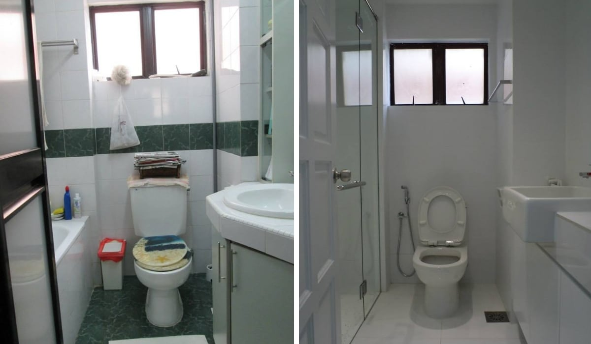 13 Before After Bathroom Renovation Designs In Malaysia Recommend My
