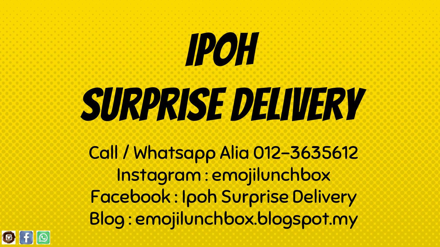 Ipoh Surprise Delivery By Emojilunchbox Budget Surprise