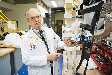 Orthotist and prosthetist personally relates to patients The