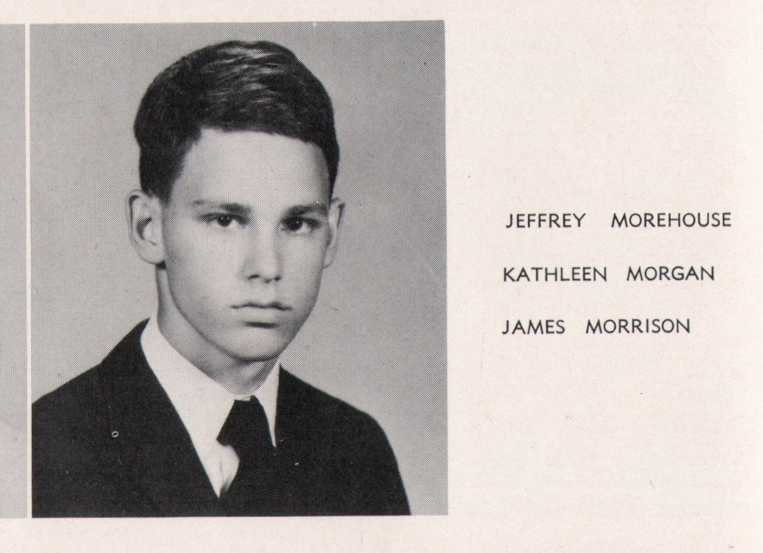 The Doors Two Original Jim Morrison High School Yearbooks