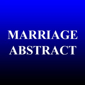 marriage-abstract