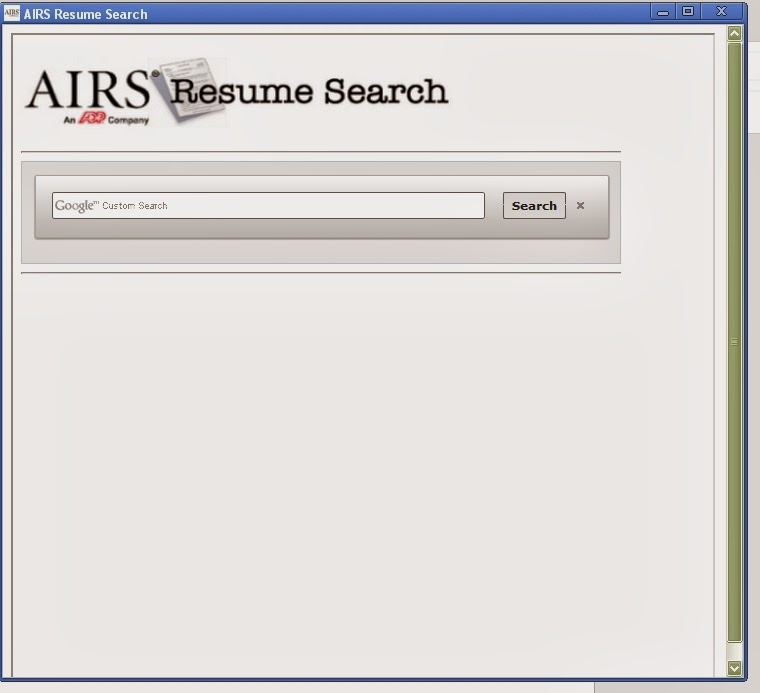 AIRS Free Resume Search Recruiter\u0027s Today - search resume for free