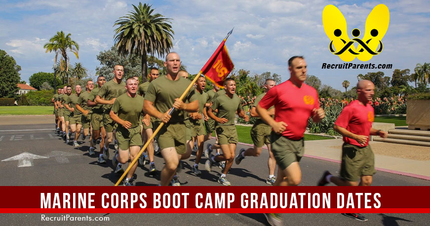 Graduation Dates USMC Marine Corps Boot Camp