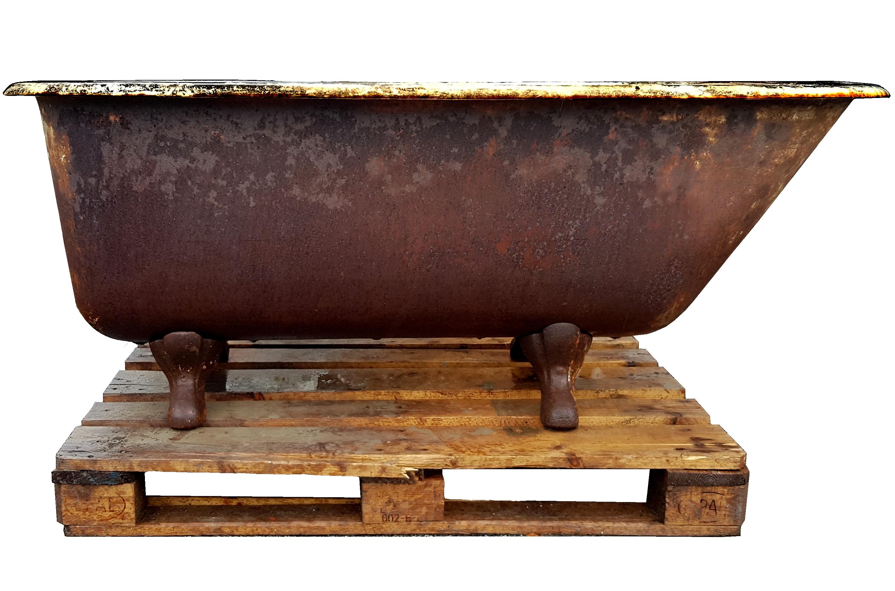 Vasca Da Bagno Piccola In Ghisa : Vasca da bagno in ghisa con piedini usata vasca ghisa usato