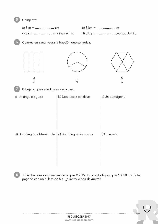 Descargar Libro Matematicas 4 Eso | Evaluación Inicial 4 º De ...