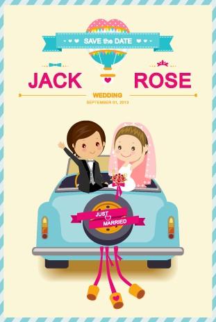 Vectores de invitaciones de boda para descargar gratis - Illustrator - invitaciones de boda gratis