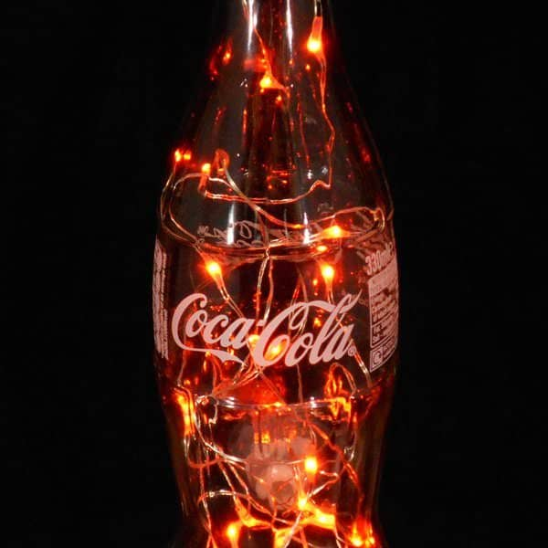 Battery Chandelier Making A Coca-cola Bottle Light • Recyclart