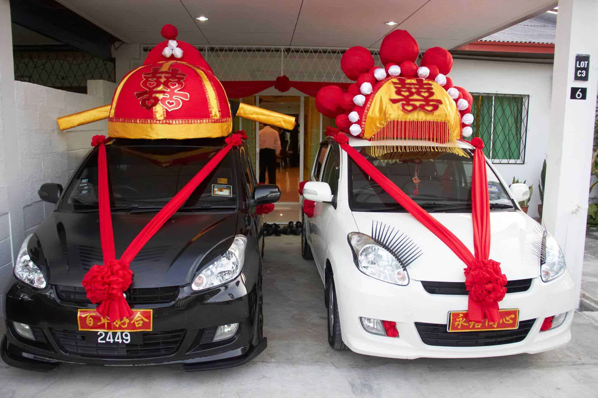 Car Decoration Weding Homemade Chinese Wedding Car Decoration Recyclart