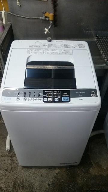 日立洗濯機2011年製6K 白い約束
