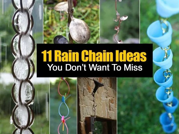 11 Ways To Make Rain Chains 1 With Cookie Cutters