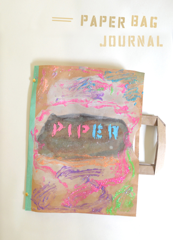 How to make a recycled paper bag journal recycled crafts for How to make recycled paper crafts