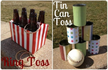 Two fun recycled material summertime party games