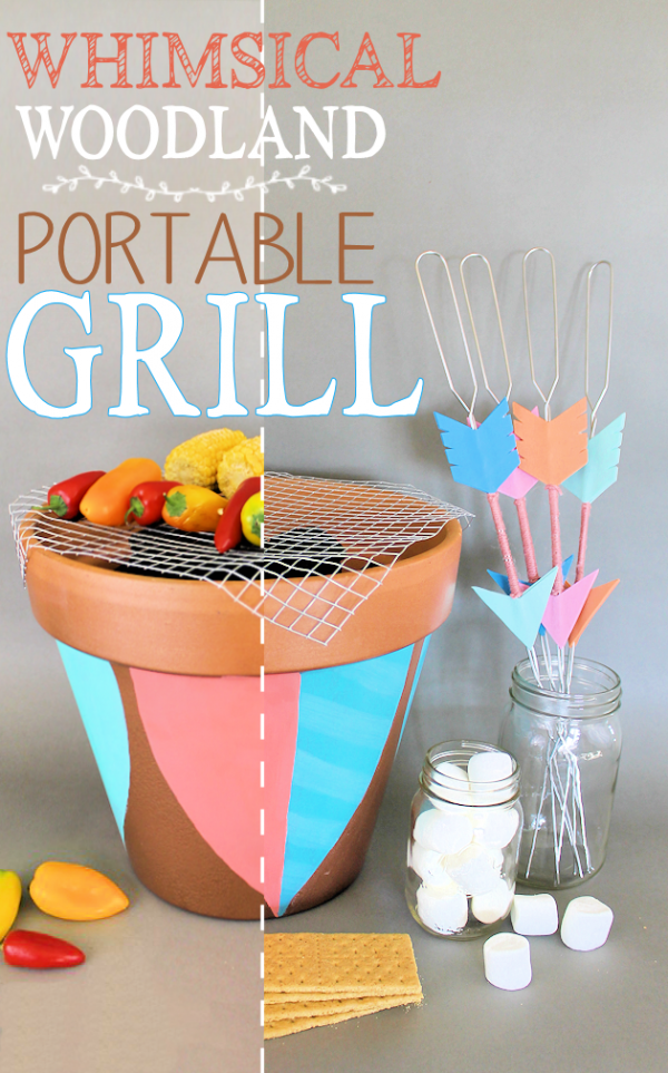 Whimsical-Woodland-Portable-Grill-