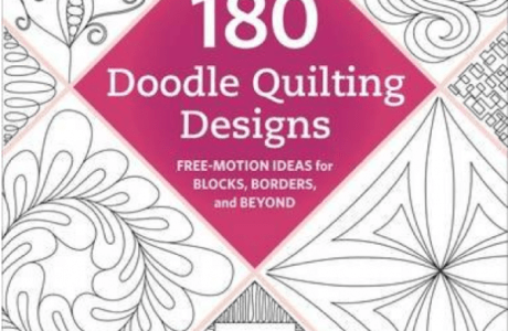 Giveaway-180 Doodle Quilting Designs: Free-Motion Ideas for Blocks, Borders, and Beyond