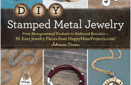 Giveaway: DIY Stamped Metal Jewelry