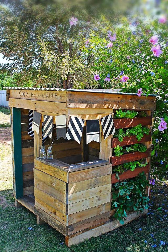 Gartenhaus Kinder Basteln Upcycled Pallet Cubby Houses Made In Australia - Recycled